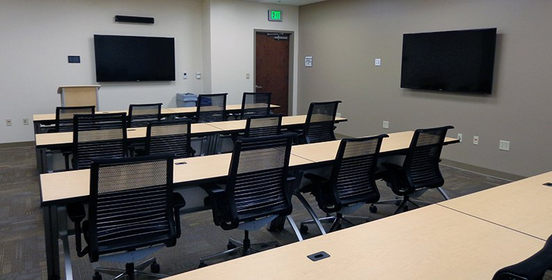 Classroom in Combat Services Support Facility